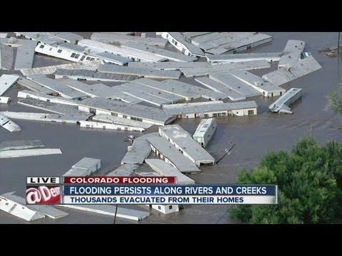 Flood devastation in Weld County