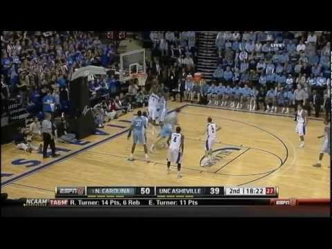 [11.13.11] Harrison Barnes - 17 Points Vs UNC Asheville (Complete Highlights)
