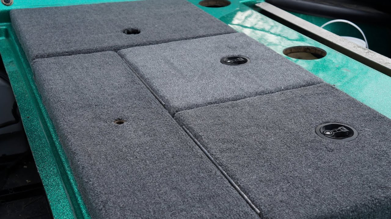 Bass Boat Carpet Replacement How To Part Ii Storage