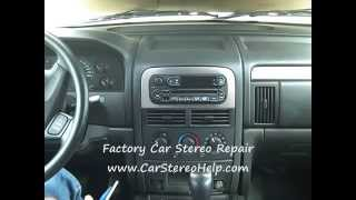 Jeep Grand Cherokee Car Radio Removal And Repair