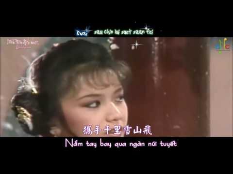 [Vietsub] Tuyết Sơn Phi Hồ - Lữ Phương & Quan Cúc Anh (OST Tuyết Sơn Phi Hồ 1985)
