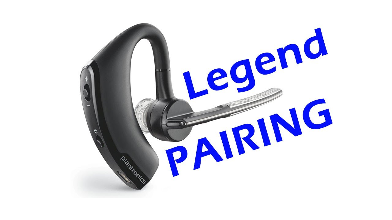 how to pair plantronics voyager legend uc bluetooth. Black Bedroom Furniture Sets. Home Design Ideas
