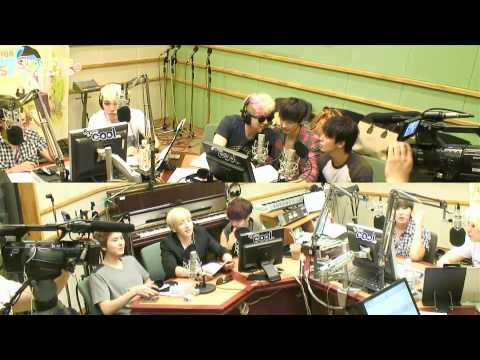 [SJF Vietsub] 120720 Kiss the Radio - Super Junior (1/8)