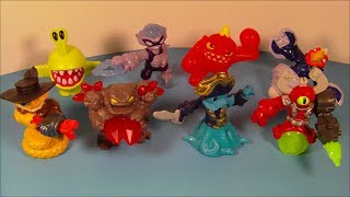 2014 SKYLANDERS SWAP FORCE SET OF 8 McDONALD'S HAPPY MEAL