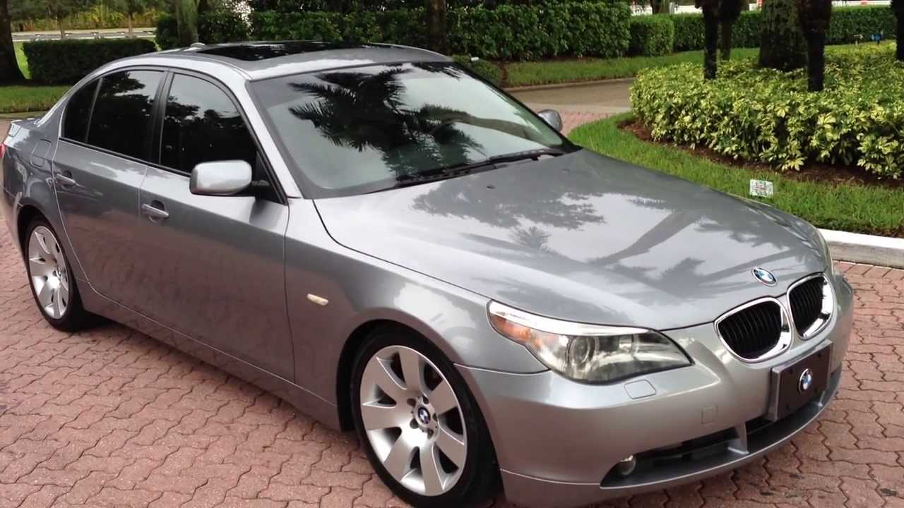 2004 Bmw 530i - View Our Current Inventory At Fortmyerswa Com