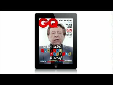 The British GQ Comedy Special trailer!