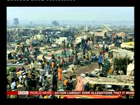 Central Africa Republic displaced number doubles