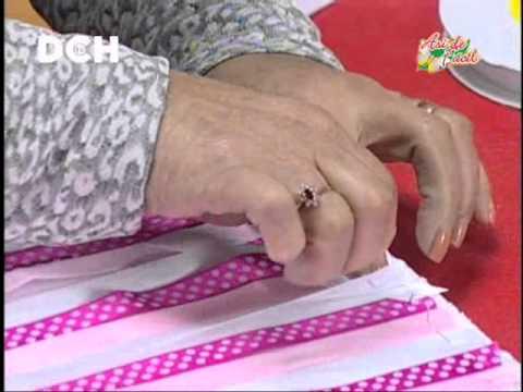 Cojin con Cubos de Cinta - Irma Ramos