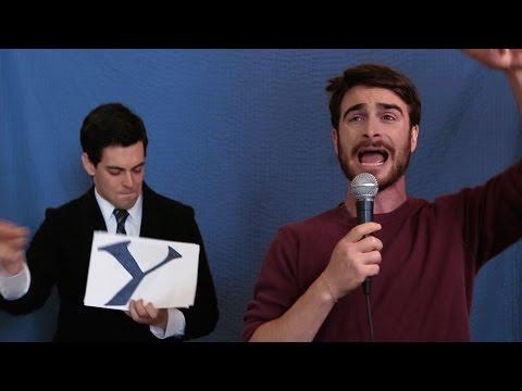 Daniel Radcliffe Raps About Harry Potter [Applecomedy]