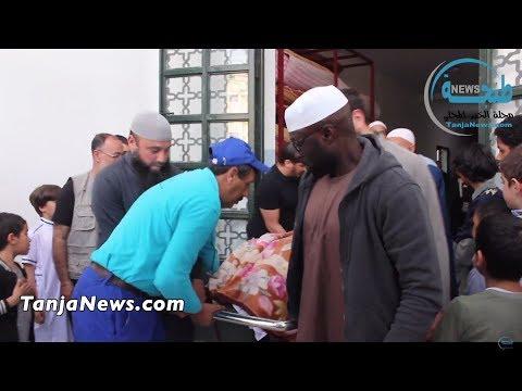 طنجة.. تشييع جنازة سيدة حامل وإبنها من أسرة أمريكية مسلمة ضحيتا حادثة سير بمالاباطا