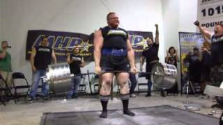 Benedikt Magnusson -1015 Deadlift - Ronnie Coleman Classic - RAW