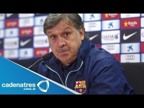 Gerardo Martino renuncia como director técnico del Barcelona tras perder la Liga