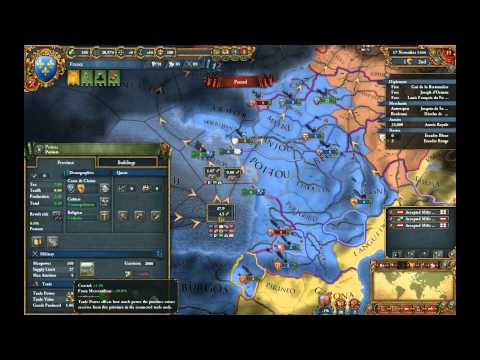 Europa Universalis IV - Tutoriel : Le Commerce