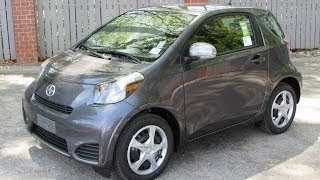 2014 Scion IQ Start Up, Exhaust, and In Depth Review