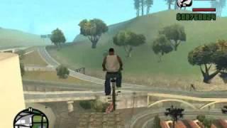 San Andreas Truco Bici