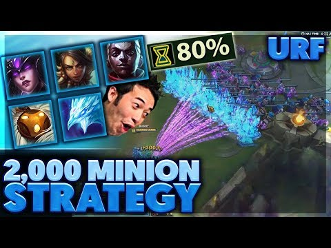 FUNNIEST ENDING EVER | THIS STRATEGY IS ACTUALLY INSANE | URF HIGHLIGHTS - BunnyFuFuu