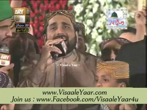 Qari Shahid Mehmood 22-04-2014 Mehfil Milad At Eidgah Sharif Rawalpindi.By Visaal