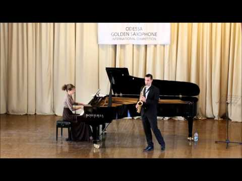 Golden Saxophone 2015 – Philip Attard – Takashi Yoshimatsu ,Fuzzy Bird Sonata I,II,III