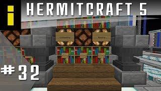 Minecraft HermitCraft Season 5 | Episode 32: The Smart Library