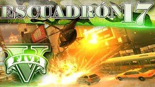 GTA V Online ESCUADRÓN 17! ATAQUE AL BANCO DE LOS