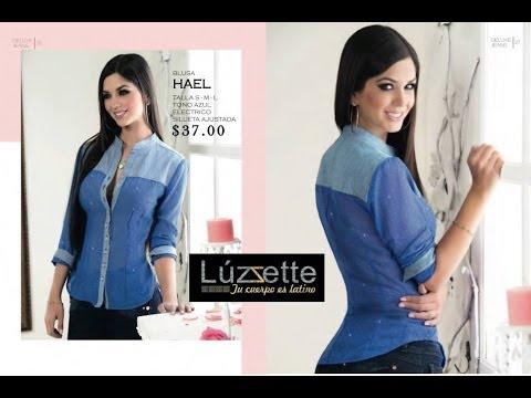 Luzzette Blusas de moda, transparencias, chifon y mas