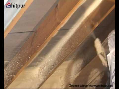 HITPUR - ocieplenie poddasza - Piana PUR poliuretanowa