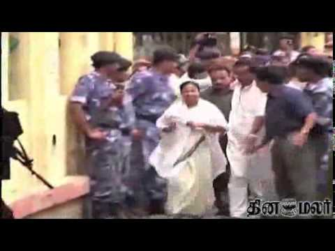 Mamata Banerjee relents, says officers will be transferred - Dinamalar april 8th 2014 News