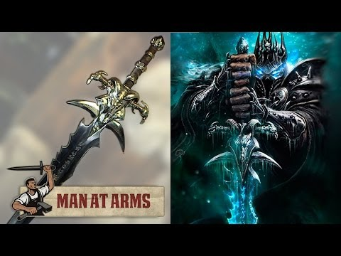Man At Arms Lamento Gélido Lich rei WWO World of Warcraft - Mundo Nerd