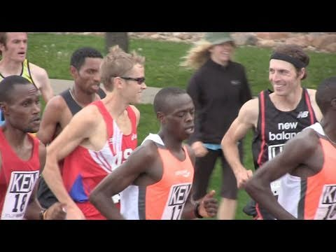 Watch Ryan Hall race the 2011 Bolder Boulder men's pro race in 5 minutes