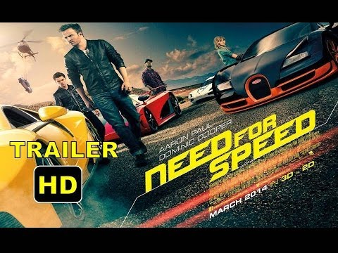 Need For Speed Trailer | Aaron Paul,Dakota Johnson