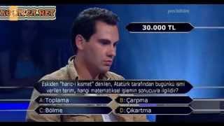 Kim Milyoner Olmak Ister 251. bölüm Mahmut Yarman 16.07.2013