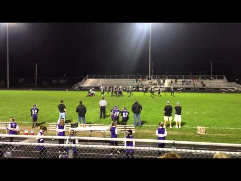 Jordan's 2013 Football Game 7 Clip 10