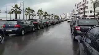 بالفيديو.. عاصفة تثير الذعر بالرباط ونواحيها .. شوفو كيفاش كاتبان عن قرب ! |