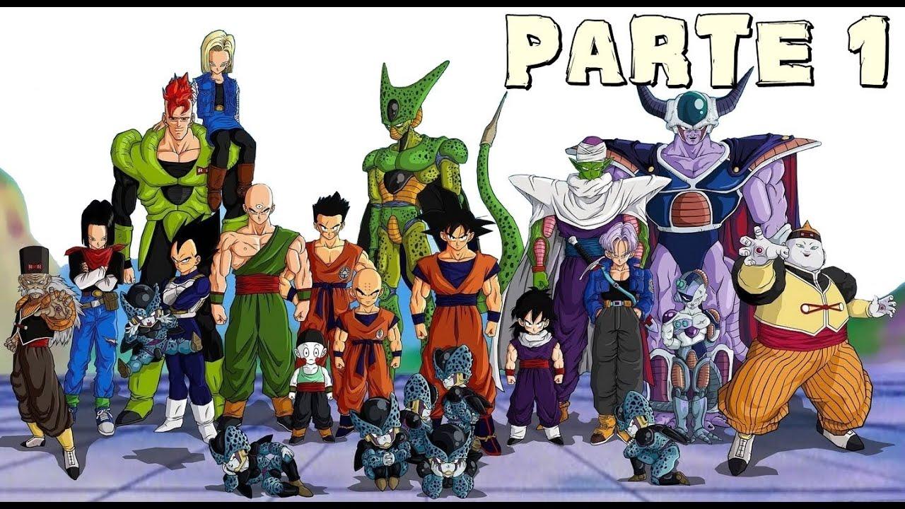 Toda La Saga De Dragon Ball Z