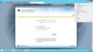 Windows Server 2012 R2 Remote Desktop Services (RDS