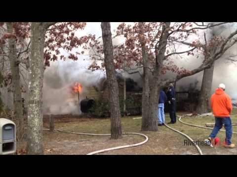 Flanders house fire: Dec. 16, 2013