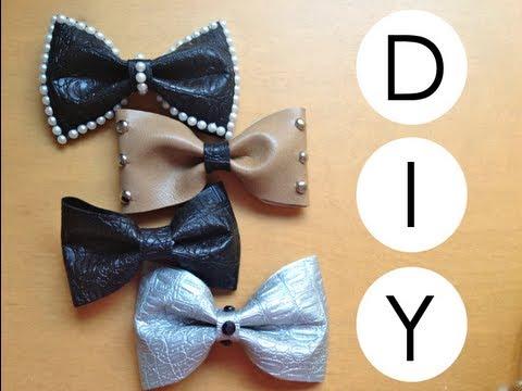 DIY- Como hacer moños para el cabello/pelo