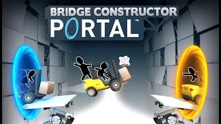 Bridge Constructor Portal - Bejelentés Trailer
