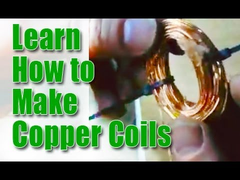 Learn How to Make Copper Coils for a Wind Generator