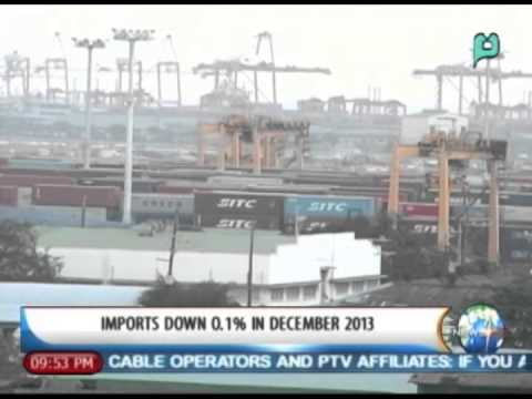 NewsLife: Imports down 0.1% in December 2013 || Feb. 25, 2014