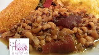 Southern Style Black Eyed Peas Recipe: How To Make Black