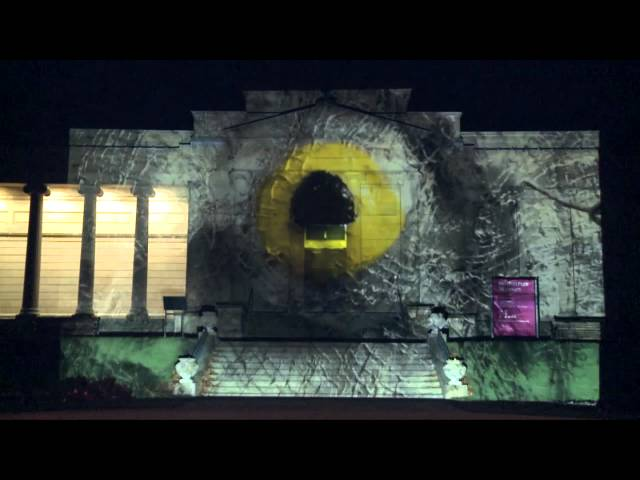 Images of Women and Ageing Projected on Sheffield's Iconic Buildings