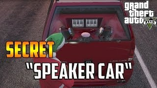 """Gta 5 Online How To Get The """"Speaker Car!"""" (Albany"""