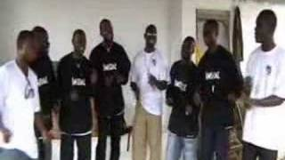 Christian African Gospel Group Acapella Childrens Choir