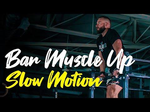 Bar Muscle Up - Slow Motion - CrossFit Technique