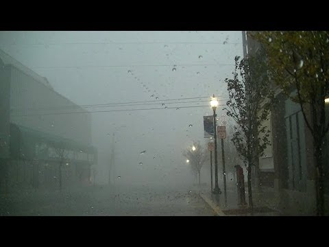 Tornado Hits Downtown Kokomo, IN (Storm Chase Footage)
