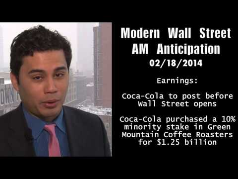 Modern Wall Street AM Anticipation: Futures dip ahead of data, Coca-Cola in focus