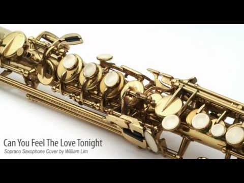 Elton John - Can You Feel The Love Tonight (Soprano Saxophone Instrumental Cover by William Lim)