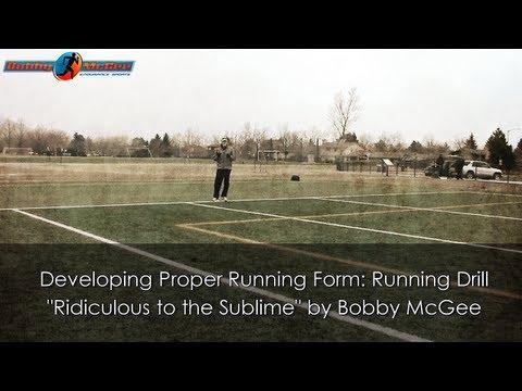 Developing Proper Running Form: Running Drill