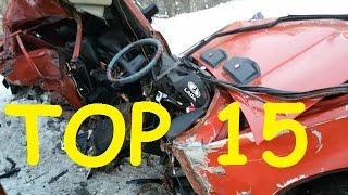 TOP 15 Car Crashes for 14 01 2017. ДТП с видеорегистраторов